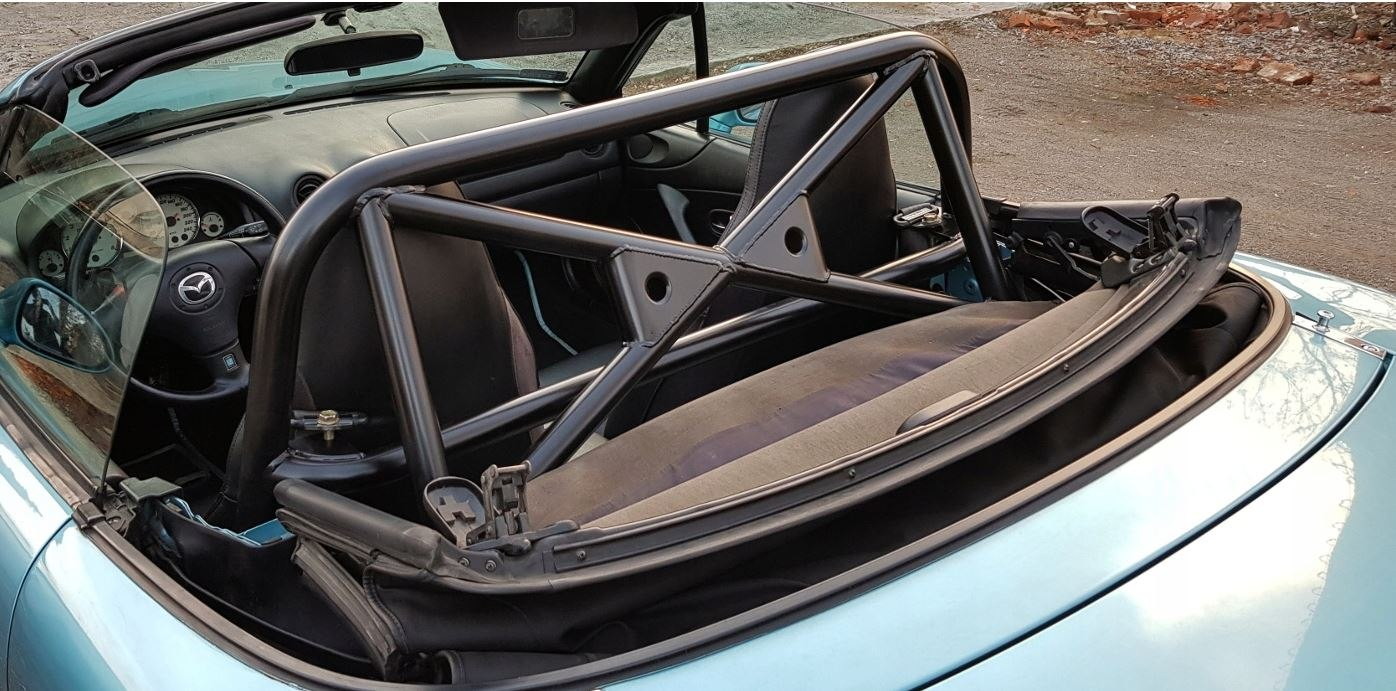 Rollbar Mazda MX5 NA NB Mx 5 - GRUBYGARAGE - Sklep Tuningowy